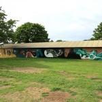 Reka New Mural In Roskilde, Denmark