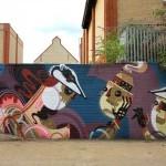 Reka New Mural In London, UK
