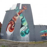 Reka New Mural In Montreal, Canada