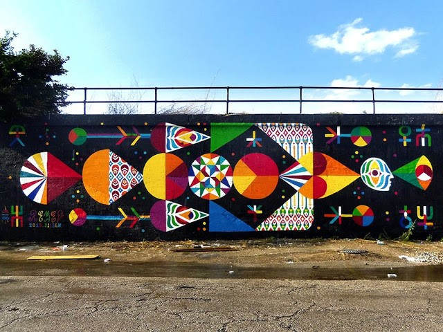 Remed New Mural In Chicago, USA