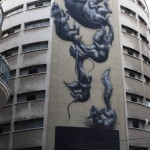 ROA New Mural In Malaga, Spain