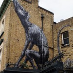 ROA New Mural In London, UK
