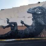 ROA New Mural In San Juan, Puerto Rico