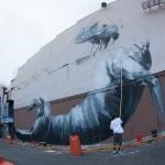 ROA New Mural In Progress, San Juan, Puerto Rico