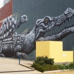 ROA creates a series of new pieces in Townsville, Australia