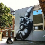 ROA New Street Pieces In Bristol, UK