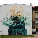 Robert Proch New Mural In Warsaw, Poland