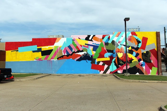 Unexpected '15: Maser creates a new mural in Fort Smith, Arkansas