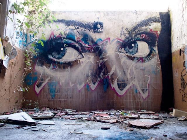 Rone new mural in bundoora australia streetartnews for Australian mural