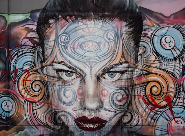 RONE x Phibs x Lister New Mural In Sydney, Australia