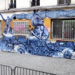 Roti New Mural In Paris, France