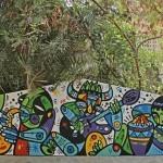 Ruben Sanchez New Murals In Al Bastakiya – Dubai, United Arab Emirates