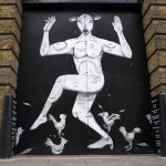 RUN New Mural In London, UK