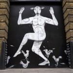 RUN New Mural In London, UK