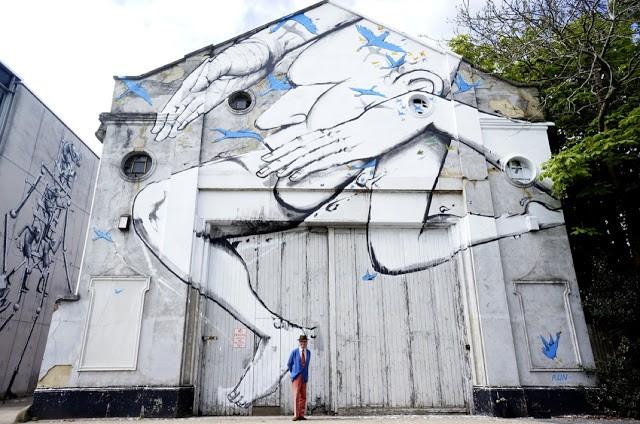 RUN New Mural In Chichester, UK