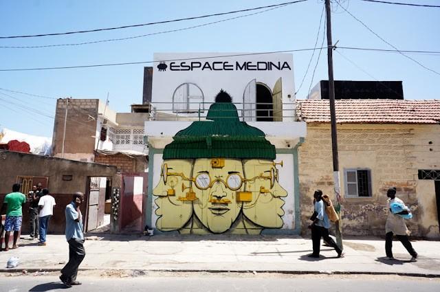 RUN New Murals In Dakar, Senegal