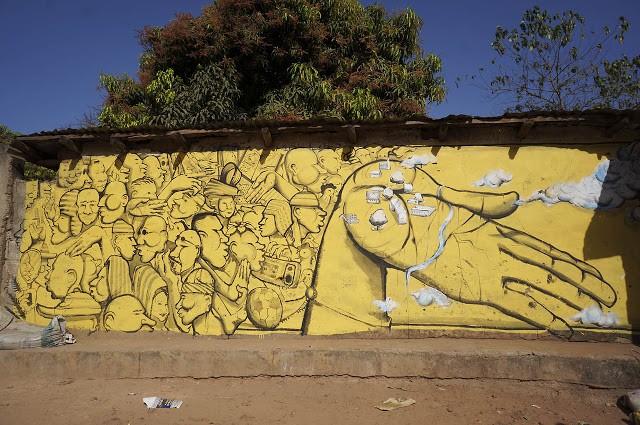 Run New Mural In Bufuluto, Gambia (Part II)