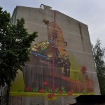 Sainer New Mural In Gdynia, Poland