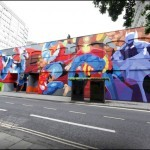 "SatOne ""Mural Competition"" New Mural In Bristol, UK"