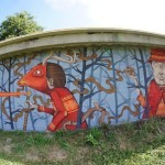 SeaCreative New Mural In Bergolo, Italy