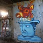 Seacreative x Ravo New Mural In Varese, Italy