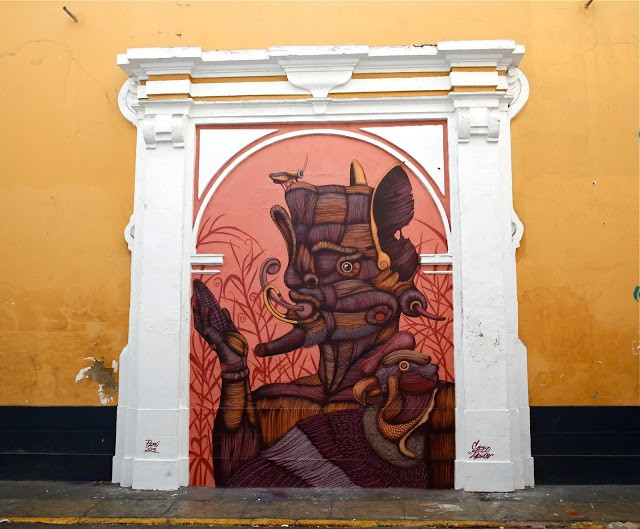 Sego New Mural In Lima, Peru