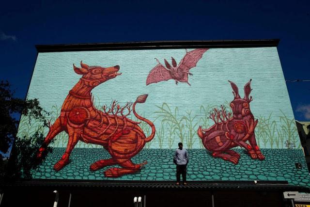 Sego New Mural In Örebro, Sweden
