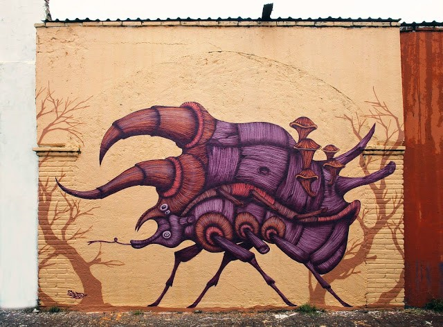 Sego New Mural For Board Dripper In Queretaro, Mexico