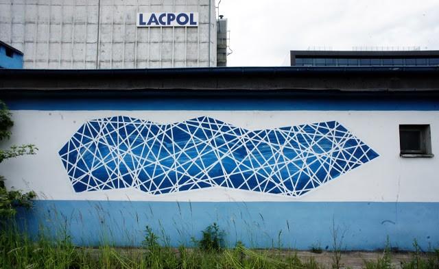 Seikon New Mural In Gdynia, Poland