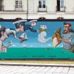 Seth x Kislow New Mural In Nantes, France