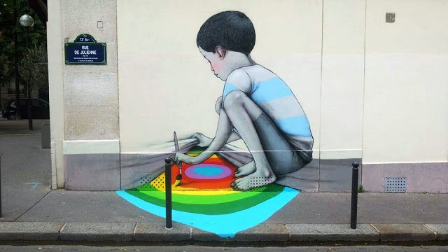 Seth New Mural In Paris, France
