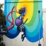 Seth New Street Art For Teenage Kicks Festival In Rennes, France