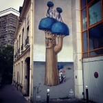 Seth x Kislow New Mural In Paris, France