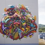 Shaka New Mural In Nancy, France