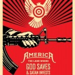 "Shepard Fairey ""God Saves & Satan Invests"" New Print Available April 2nd"