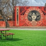 Shepard Fairey New Mural In Santa Fe, USA