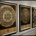 "Shepard Fairey ""Sound & Vision"" London Solo Show Coverage"