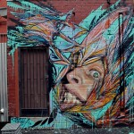 Shida x Adnate New Mural In Melbourne, Australia