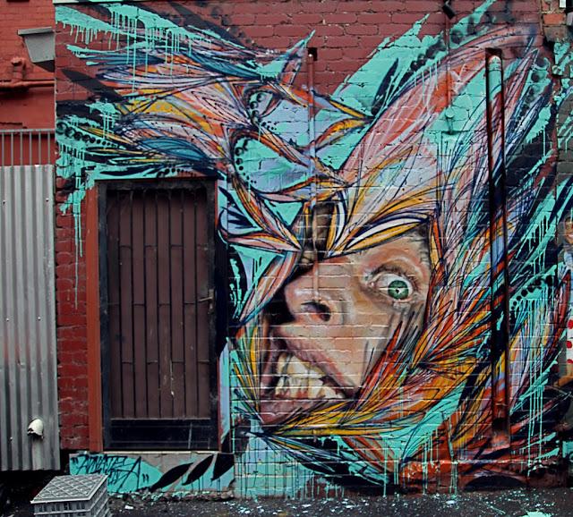 Shida x adnate new mural in melbourne australia for Australian mural