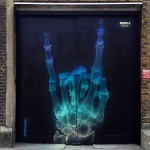 """X-Funk"", a brilliant mural by Shok-1 in East London, UK"