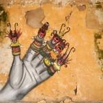 Skount New Mural In Thessaloniki, Greece