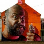Smug New Mural In Limerick, Ireland