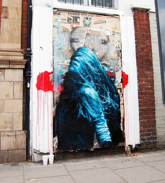 Snik New Mural In London, UK