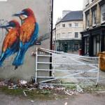 Snik New Mural In Stamford, UK