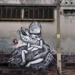 Sosek New Mural In São Paulo, Brazil