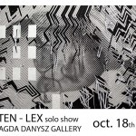 Sten Lex New Paris Solo Show, October 18th