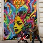 Stinkfish New Street Piece In Vienna, Austria