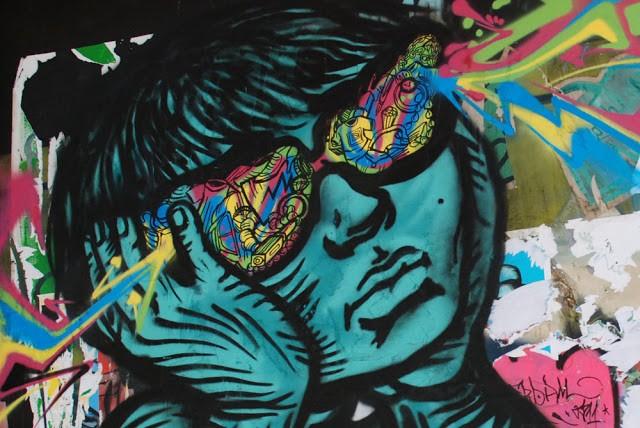 Stinkfish x Bastardilla New Mural In Amsterdam, Netherlands