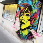 Stinkfish New Mural In Paris, France