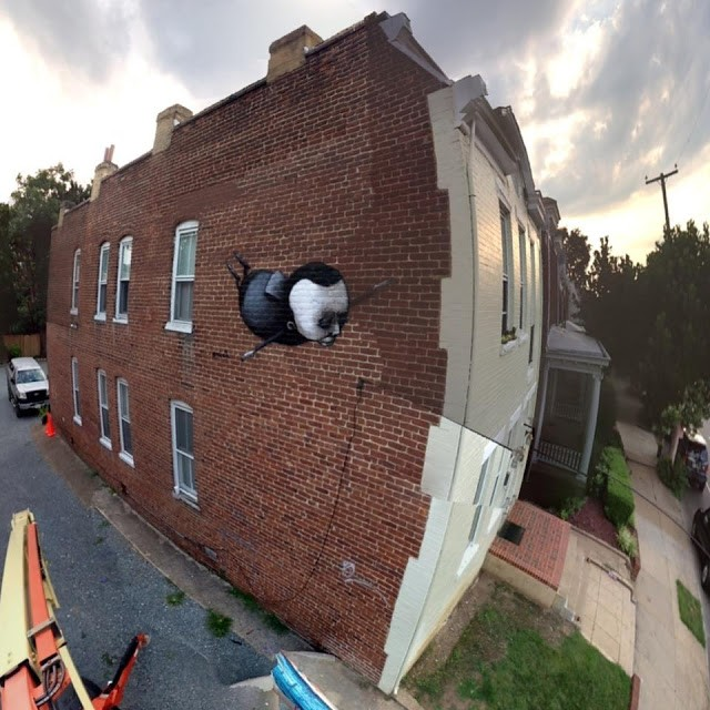 Stormie Mills New Street Pieces In Richmond, USA